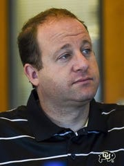 U.S. Rep. Jared Polis, D-Colo., meets with the Coloradoan editorial board in this Sept. 2 file photo.