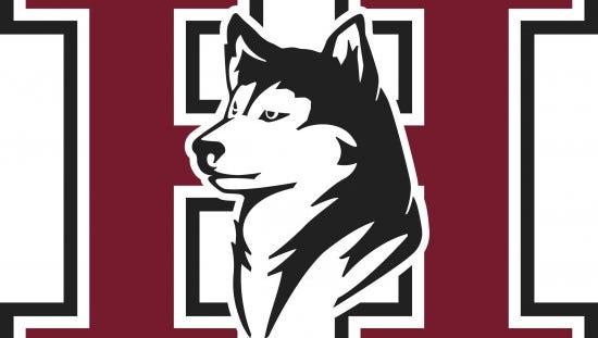Hamilton Huskies logo.