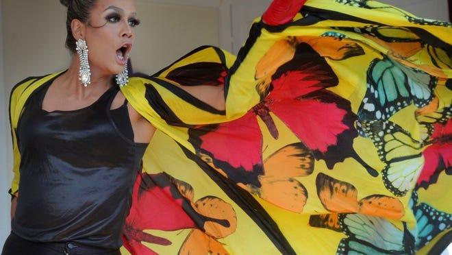 Raja Gemini performs during the 2016 Ventura County Pride festival in Ventura.