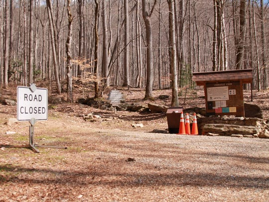 Pinnacle Park in Jackson County reopened Tuesday, February 21, 2017. The Slyva Police Department closed the park after a runner was impaled by a nail while running along some of the park trails. Authorities located 5-60 nails in the park.
