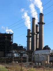 The San Juan Generating station is seen, Thursday in