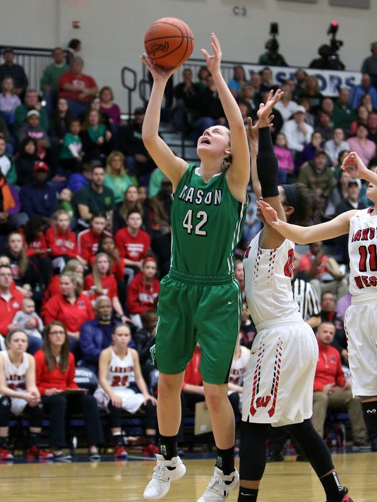 Lakota West vs Mason Girls BBall Regional Final