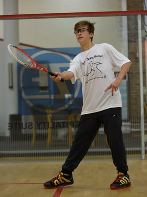 Drew Barr, 14, is a nationally ranked player hoping to land the BAC's first national junior title in March.