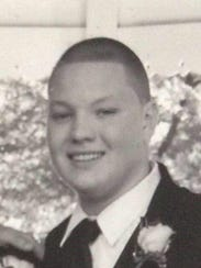 Brandon M. Sauer, who was killed at a railroad crossing