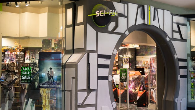 The Sci-Fi City in Knoxville Center mall will move to a new location at 5410 N. Broadway.