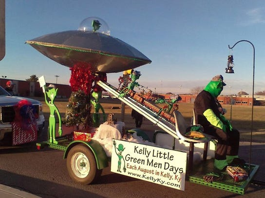Kelly Little Green Men Days Festival