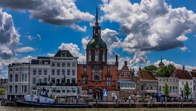 Glorious arrival in Dordrecht.