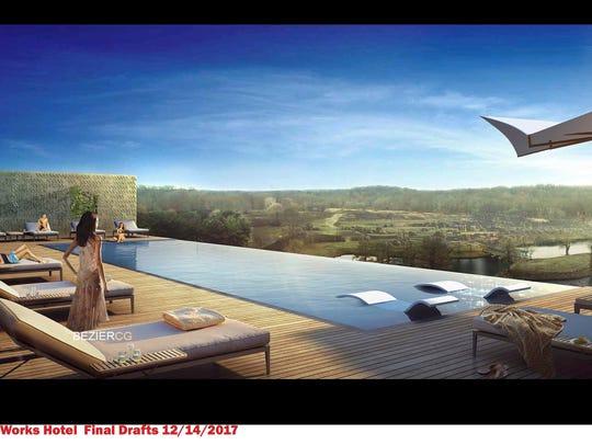 Bell Works Hotel rendering 2