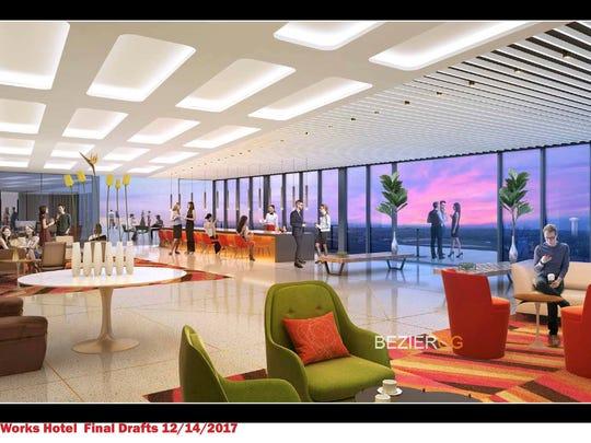 Bell Works Hotel rendering 3