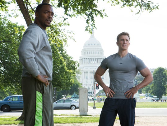Sam and Cap