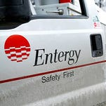 Entergy crews in Mississippi.