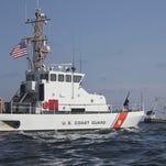 FILE: Coast Guard search boat.