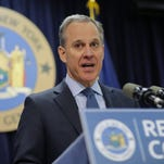 New York Attorney General Eric Schneiderman in New York in February 2016.