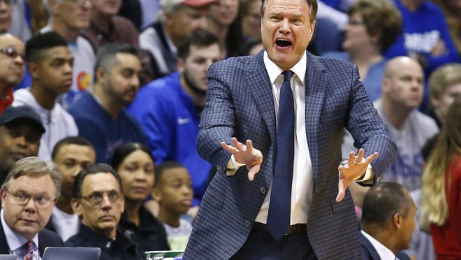 "Kansas basketball coach Bill Self said Tuesday that, despite the COVID-19 pandemic, he believes the sport will be played this fall, though he added it ""may not be as we know it."""