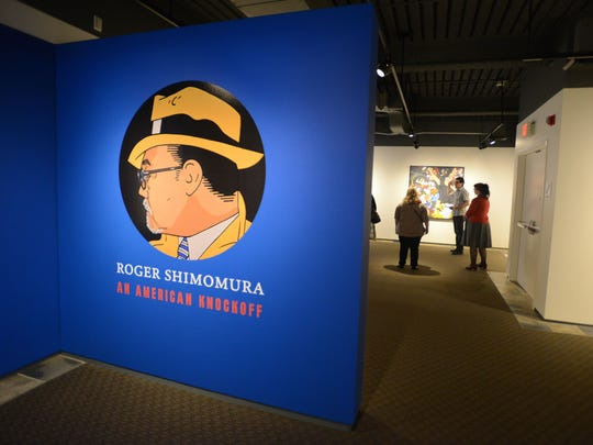 """""""Roger Shimomura: An American Knockoff"""" exhibit, which is open through March 29, will be part of the Hallie Ford Museum of Art's scavenger hunt during spring break."""