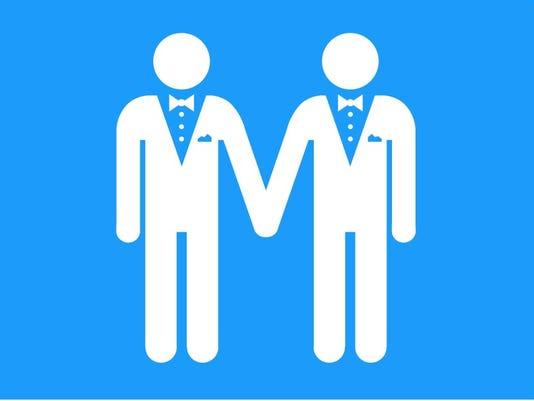Same sex marriage promo art