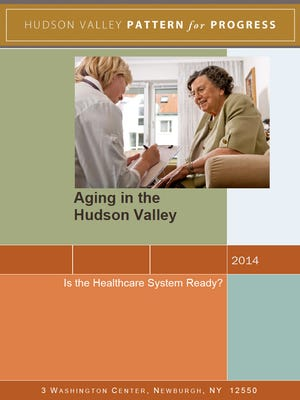 The cover of Pattern for Progress' Aging in the Hudson Valley report