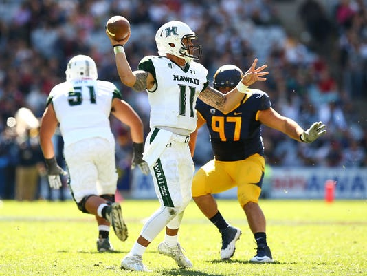 University of California v University of Hawaii - College Football Sydney Cup