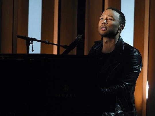 John Legend will perform  at Meadow Brook Amphitheatre