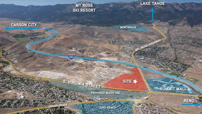 Station Casinos is putting its remaining 88-acre parcel in south Reno on the market according to a memorandum obtained in November 2016.