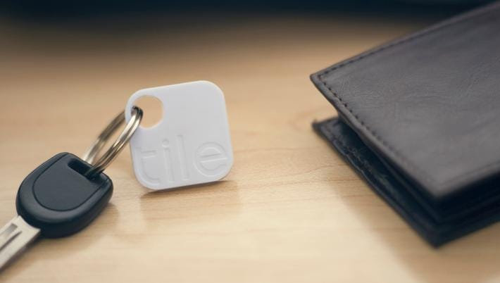 personalise with your Telephone number if lost Tan Leather Key holder