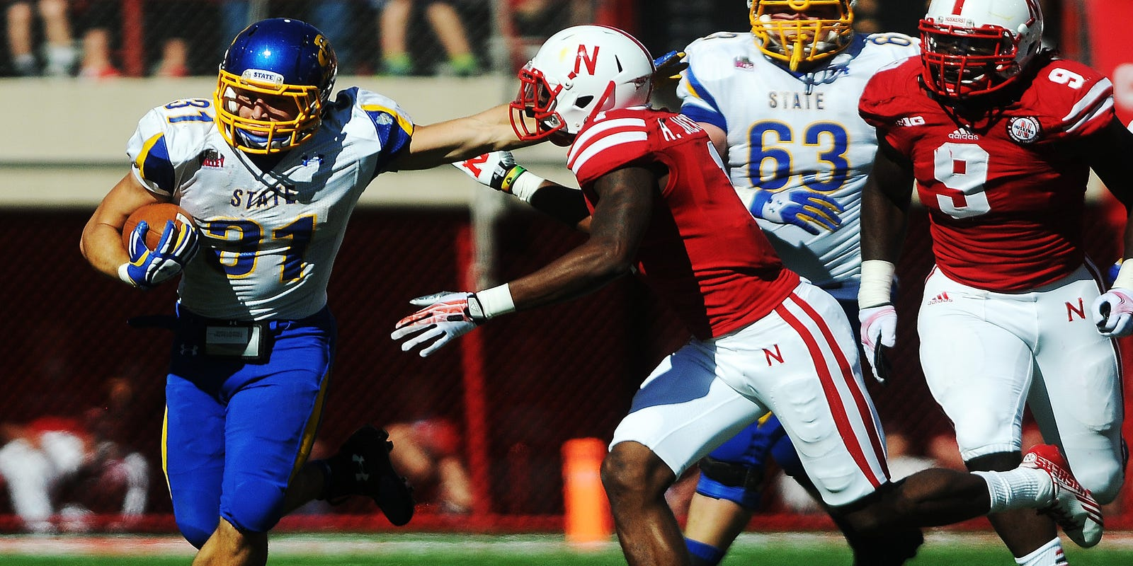 South Dakota State Football To Play Nebraska Cornhuskers In