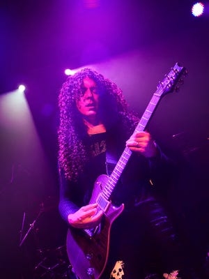 Heavy-metal guitar virtuoso Marty Friedman is set to perform Tuesday at Tricky Falls, 209 S. El Paso St.