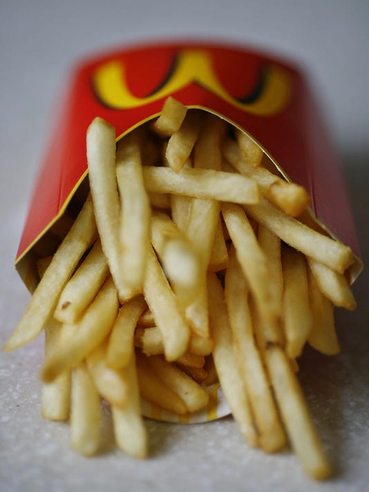 McDonald's french fries are pictured in