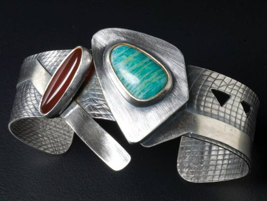 Jewelry pieces from Anne Rob