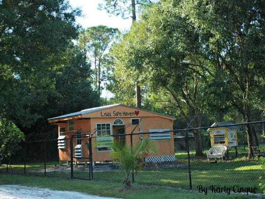 CFF's sanctuary features cage-free enclosures and cottages
