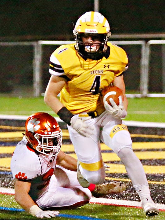 Central York vs Red Lion football week 8