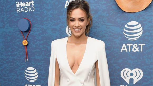 Jana Kramer arrives at the 2018 iHeartCountry Festival By AT&T at The Frank Erwin Center on May 5, 2018, in Austin, Texas.