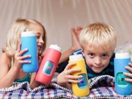 Gululu interactive water bottle