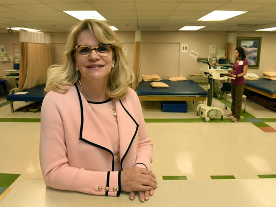 Dr. Mary Dillon, the Business Journal's Health Care