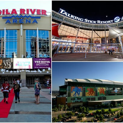 Gila River Arena, home of the Coyotes; Talking Stick