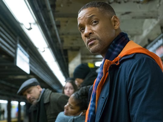 """Will Smith stars as a grieving father in desperate need of some Christmas spirit in """"Collateral Beauty."""""""