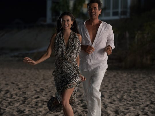 Demi Moore (left) and Ty Burrell in 'Rough Night.'