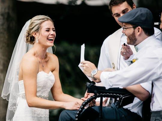 Megan Alexander and Brett Greenhill were married Sept.