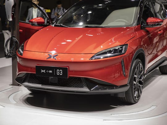 Xpeng's G3 electric SUV.