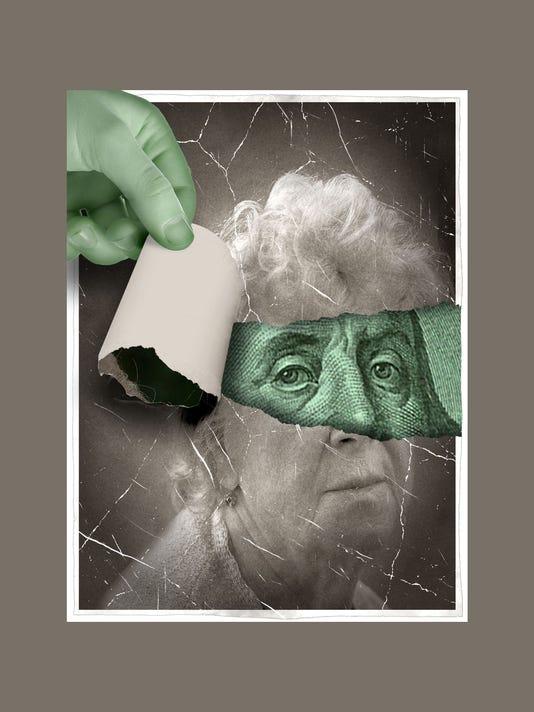 ILLUSTRATION: Scamming The Elderly