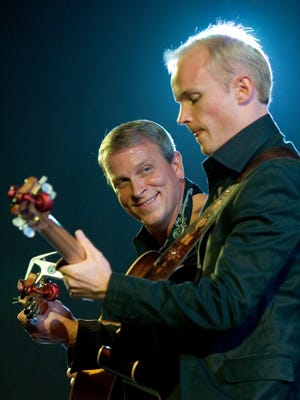 The International Guitar Duo of Loren Barrigar and Mark Mazengarb will play an 8 p.m. Monday show at the Trumansburg Conservatory of Fine Arts.
