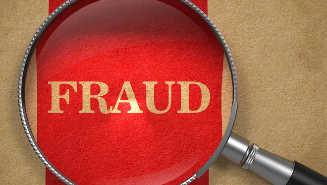 Authorities are warning residents to be wary of fraudsters.