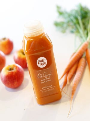 Oh Ginger juice sold at Juby True in Arcadia.