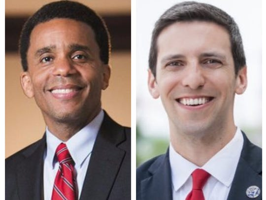 Christopher Smitherman, left, and P.G. Sittenfeld
