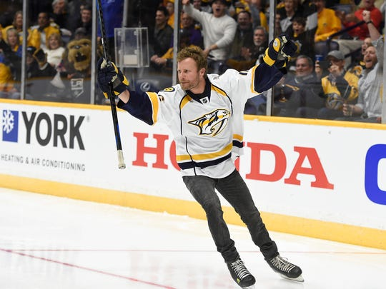 Country musician Dierks Bentley will play for the Predators