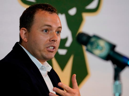 Jon Horst took over as general manager of the Bucks