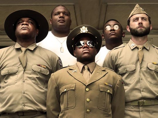 "Aaron Smith, Jerald Brantley Jr., Ken-Matt Martin, Freddie Fulton and Scott Siepker filled out the cast in a staging of the 1982 Pulitzer Prize winner, ""A Soldier's Play,"" this August at the Des Moines Social Club."