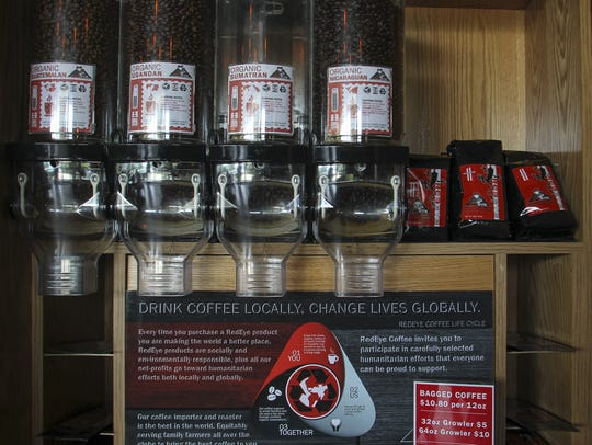 Red Eye Coffee is sourced globally with partnerships