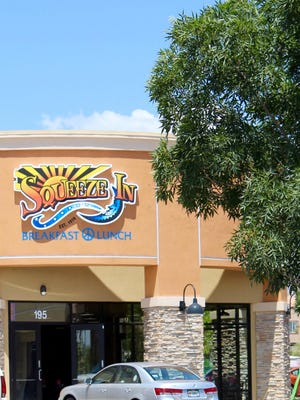 The new Squeeze In on South Fort Apache Road in Las Vegas is the family restaurant group's debut franchise, the first of eight planned for the market.