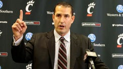 Dec. 10, 2016: New Bearcats head football coach Luke